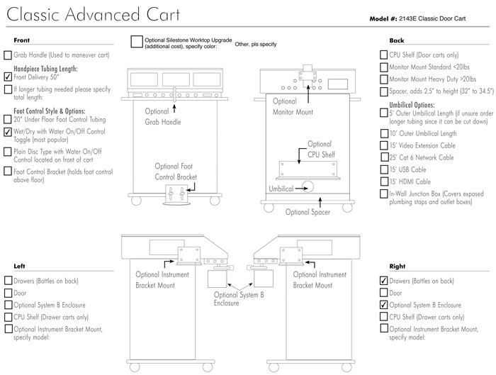 Cart Configuration