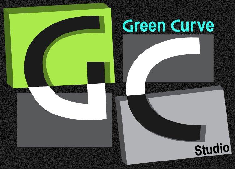 Green Curve Studio Logo