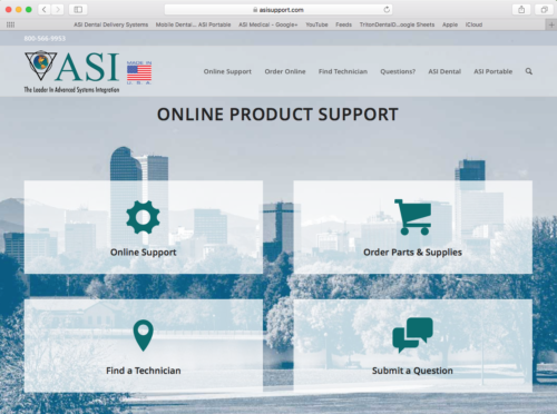 ASI Online Support