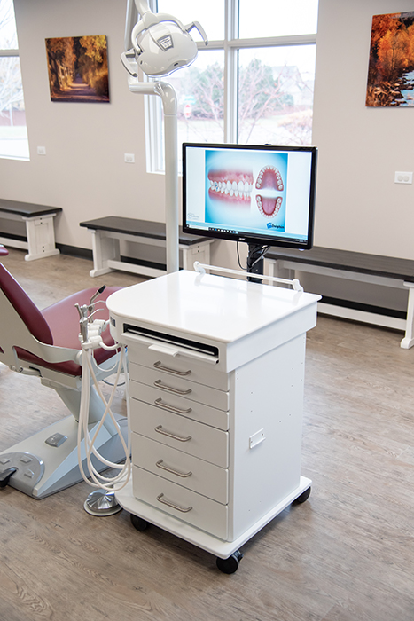 Orthodontic Dental Office Design, Dr Gregston