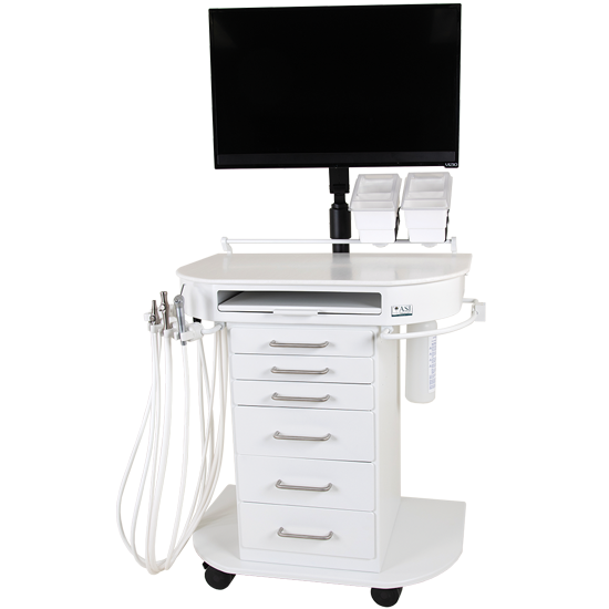 Freedom Dental Assistant Cart, 90-1044
