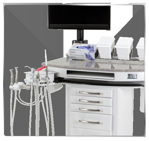 Dental/Hygiene Delivery Cart