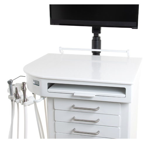 Orthodontic/Hygiene Delivery Cart Systems