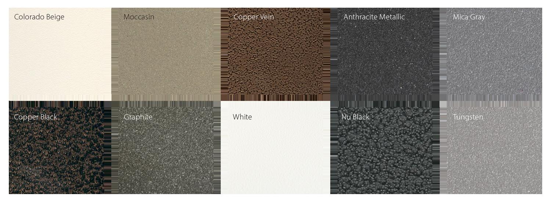 Custom Powdercoat Colors